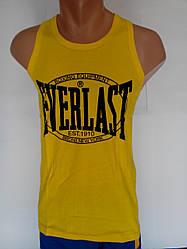 Майка спортивная Everlast (боксерка, желтый)