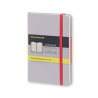 Блокнот Moleskine Limited Contrast Кишеньковий 192 сторінки Айстра в Лінійку (9х14 см) (8055002851398), фото 1