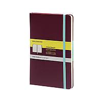 Блокнот Moleskine Limited Contrast Кишеньковий 192 сторінки Сливовий в Лінійку (9х14 см), фото 1