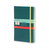 Блокнот Moleskine Limited Contrast Карманный 192 страницы Шалфей в Линейку (9х14 см) (8055002851428), фото 1