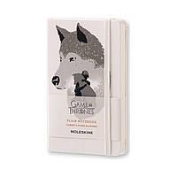 Блокнот Moleskine Limited Game of Thrones Карманный 192 страницы Белый Нелинованный (9х14 см) (8051272893083), фото 1