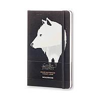 Блокнот Moleskine Limited Game of Thrones Средний 240 страниц Черный в Линейку (13х21 см), фото 1