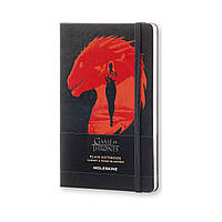 Блокнот Moleskine Limited Game of Thrones Средний 240 страниц Черный Нелинованный (13х21 см) (8051272893106), фото 1