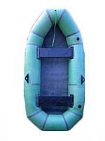 """Лодка Лисичанка 245 """"Язь-2"""" из прорезиненной ткани БЦК"""