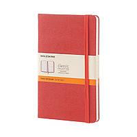 Блокнот Moleskine Classic Оранжевый Средний 240 страниц в Линейку (13х21 см), фото 1