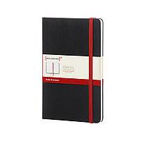 Блокнот Moleskine Classic RED Чёрный Средний в Линейку (13х21 см), фото 1