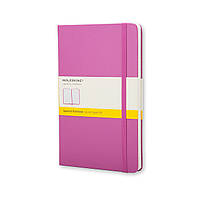 Блокнот Moleskine Classic Розовый Средний 240 страниц в Клетку (13х21 см), фото 1