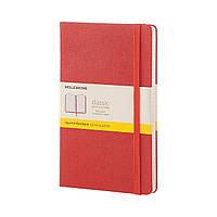 Блокнот Moleskine Classic Оранжевый Средний 240 страниц в Клетку (13х21 см), фото 1