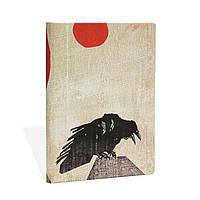 Блокнот Paperblanks Алистар Белл Ворон Средний с Чистыми листами (13х18 см) (PB31802), фото 1