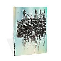 Блокнот Paperblanks Алістар Белл Човен Середній з Чистими листами (13х18 см) (PB31789) (9781439731789)