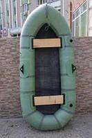 """Човен Лисичанка 245 """"Дельфін"""" з прогумованої тканини БЦК"""
