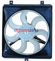Вентилятор радиатора (3 крепления) R Geely CK (Джили СК) 1602192180