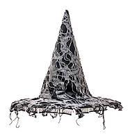 Шляпа ведьмы с паутиной