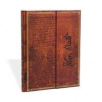 Блокнот Paperblanks Рукописи Китс Большой в Линейку (18х23 см) (PB2522-1), фото 1