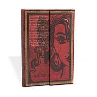 Блокнот Paperblanks Рукописи Эми Уайнхаус Мини с Чистыми листами (10х14 см) (PB2557-3), фото 1