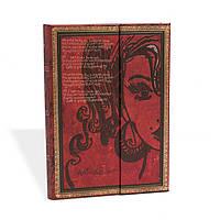 Блокнот Paperblanks Рукописи Эми Уайнхаус Средний в Линейку (13х18 см) (PB2558-0), фото 1