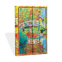 Блокнот Paperblanks Рукописи Моне Мост Мини с Чистыми листами (10х14 см) (PB2214-5), фото 1