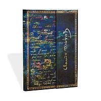 Блокнот Paperblanks Рукописи Моне Лилии Средний с Чистыми листами (13х18 см) (PB1274-0), фото 1