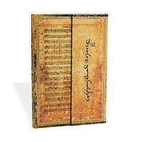 Блокнот Paperblanks Рукописи Моцарт Мини в Линейку (10х14 см) (PB6665), фото 1