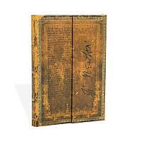 Блокнот Paperblanks Рукописи Ньютон Мини в Линейку (10х14 см) (PB3243-4), фото 1