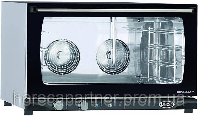 Конвекционная печь с увлажнением XFT 193 Rossela Manual Unox (Италия) - ХоРеКа Партнер — Оборудование для Ресторанов, Оборудование для Магазинов, Баров, Фаст-фуд в Львове