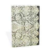 Блокнот Paperblanks Мереживо Білий Середній в Лінійку (13х18 см) (PB3248-9) (9781439732489), фото 1