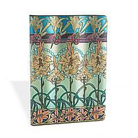 Блокнот Paperblanks Альфонс Муха Тигровая лилия Средний в Линейку (13х18 см) (PB2674-7), фото 1