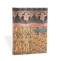 Блокнот Paperblanks Альфонс Муха Ирис Микро в Линейку (7х9 см) (PB1943-5), фото 1
