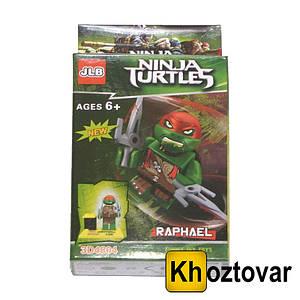 """Фігурка-конструктор для дітей """"Черепашки-ніндзя. Рафаель"""" JLB Ninja Turtles Raphael"""