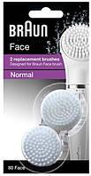 Щетка для очистки лица Braun SE80 FACE, 2 шт. (81491931)