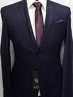 Комбинированный мужской костюм цвета баклажан Doni Ricce