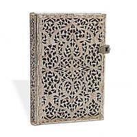 Блокнот Paperblanks Серебряная филигрань Тень Мини в Линейку (10х14 см) (PB2187-2) (9781439721872)