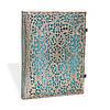 Блокнот Paperblanks Серебряная филигрань Лазурный Большой с Чистыми листами (18х23 см) (PB2561-0)