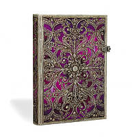 Блокнот Paperblanks Серебряная филигрань Фиолетовый Мини с Чистыми листами (10х14 см) (PB2889-5), фото 1