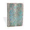 Блокнот Paperblanks Серебряная филигрань Лазурный Классический Мини в Линейку (10х14 см) (PB2566-5)