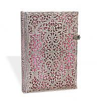Блокнот Paperblanks Серебряная филигрань Розовый Средний в Линейку (13х18 см) (PB1935-0) (9781439719350)