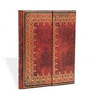 Блокнот Paperblanks Старая кожа Фольгированное тиснение Большой в Линейку (18х23 см) (PB2841), фото 1