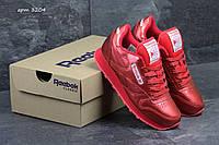 Женские кроссовки Reebok Classic красные 3204