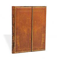 Блокнот Paperblanks Старая кожа Ручная работа Большой в Линейку (18х23 см) (PB2865)