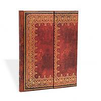 Блокнот Paperblanks Старая кожа Фольгированное тиснение Большой с Чистыми листами (18х23 см) (PB4388)