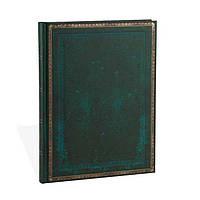 Блокнот Paperblanks Старая кожа Виридиан Большой в Линейку (18х23 см) (PB3515-2) (9781439735152)