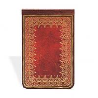 Блокнот Paperblanks Старая кожа Фольгированное тиснение Репортер в Линейку (9,5х14 см) (PB1908-4)