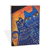 Блокнот Paperblanks Фантастические коты Средний в Линейку (13х18 см) (PB3961) (9781551563961), фото 1