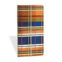 Блокнот Paperblanks Шотландка Челси Слим в Линейку (9,5х18 см)