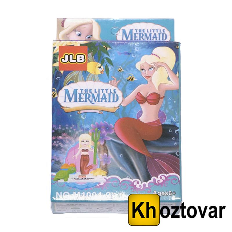 "Фигурка-конструктор для детей от 6 лет ""Русалочка"" JLB The Little Mermaid"