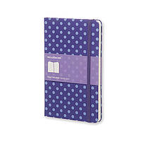Блокнот Moleskine Limited Pois Средний 240 страниц в Линейку Фиолетовый (13х21 см) (9788867324200), фото 1