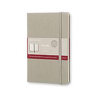 Блокнот Moleskine Limited Two-Go Средний 144 страницы Серый в Тканевой обложке (11,5х17,5 см) (8055002851688), фото 1