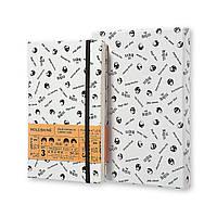 Блокнот Moleskine Limited The Beatles в подарочной упаковке Средний 240 страниц в Линейку Белый (13х21 см), фото 1