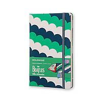 Блокнот Moleskine Limited The Beatles Средний 240 страниц в Линейку Зеленый (13х21 см) (8055002851572), фото 1