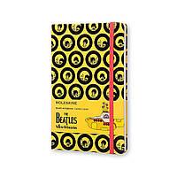 Блокнот Moleskine Limited The Beatles Средний 240 страниц в Линейку Желтый (13х21 см) (8055002851558), фото 1